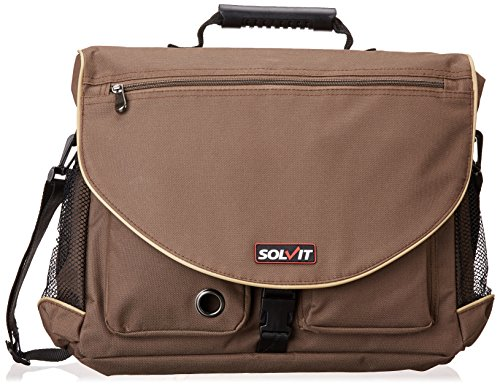 PetSafe Happy Ride Travel Bag - Water and Food Pet Bowl Included - Great for Hiking and Adventure with your Dog - Zipper Pockets and Poop Bag Dispenser - Durable Material and Comfortable to Carry