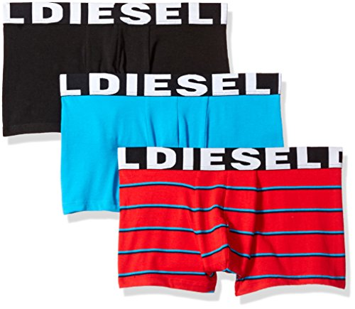 Diesel Herren Shawn Three Pack Badehose, rot, Small (3er