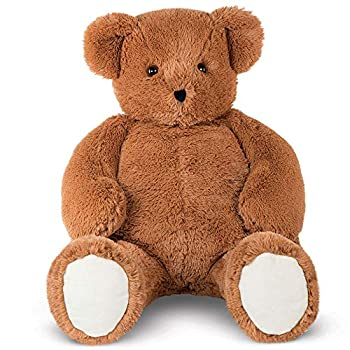 Vermont Teddy Bear Big Teddy Bear - Jumbo Stuffed Animals 4 Foot Brown Cuddle