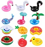 NYRWANA DELIVERING SMILES IN INIDA Inflatable Fruit Shape Drink Holders, Inflatable Pool Floats, Inflatable Pool Party Drink Floats (Send Randomly 9 Drink Holders)