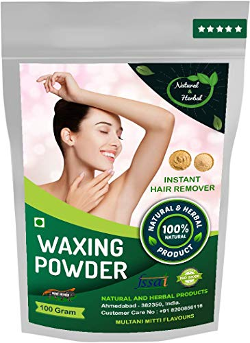 Waxing Powder | Wax Powder | Hair Removal Powder | Multani Mitti Flavours For Instant Hair Remover, Zero Pain- 100GM