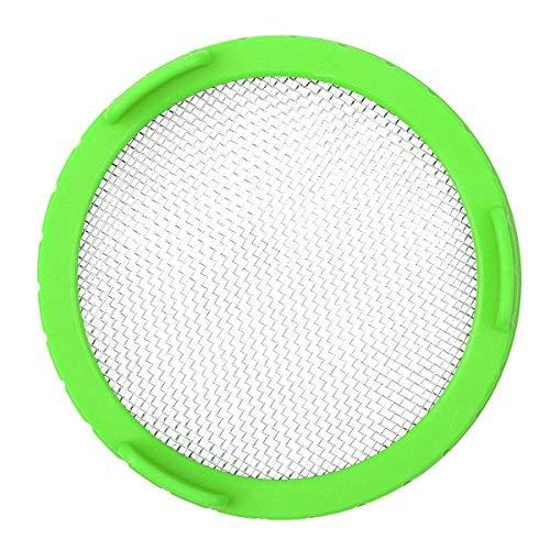 FEESHOW Lot de 1 Couvercles en plastique avec bonne aération pour germination de graines biologiques dans votre cuisine Vert One Size