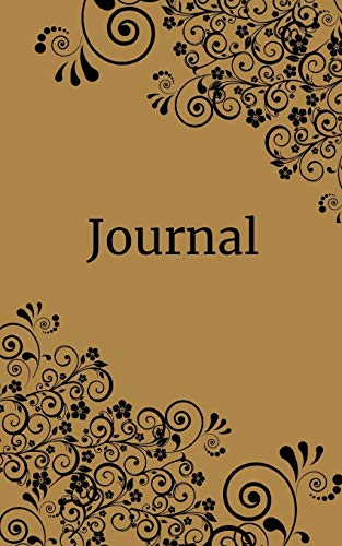 Journal: Scrolls & flowers; 100 sheets/200 pages; 5