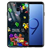 A_mong us Case for Samsung Galaxy S9 Design Soft Silicone Cover, [Military-Grade] Defender A_mong us Protective Phone Case for Boys Girls Women. (5.8inch)