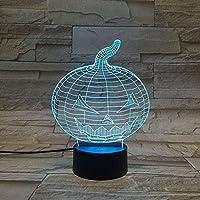 giyiohok 3Dランプボーイズナイトライトテーブルデスク目の錯覚ランプ16色変更ライト-B21-B10