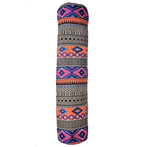 MY LIFE MY YOGA Heavy Jacquard Yoga Mat Cover/Mat Bag with Full Zip (MLMYMC8, Multicolour)