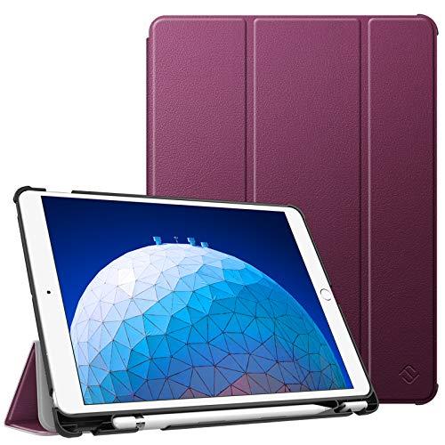 """Fintie Funda para iPad Air 10.5"""" (3.ª Gen) 2019/iPad Pro 10.5"""" 2017 con Soporte Incorporado para Pencil - Súper Ligera Carcasa Protectora con Función de Auto-Reposo/Activación, Morado"""