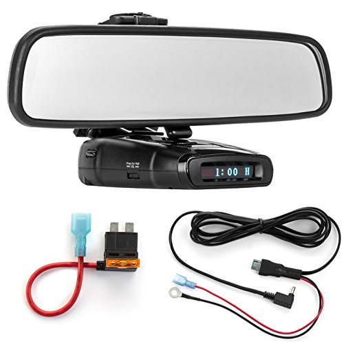 Fantastic Prices! Radar Mount Mirror Mount Bracket + Direct Wire Power Cord + ATO Fuse Tap for Whist...