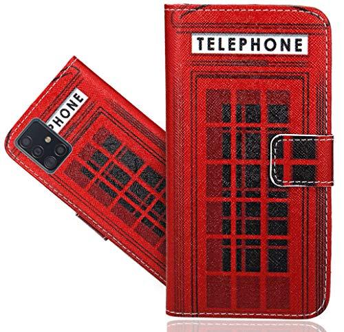 CaseExpert Samsung Galaxy A51 / M40S Handy Tasche, Wallet Case Flip Cover Hüllen Etui Hülle Ledertasche Lederhülle Schutzhülle Für Samsung Galaxy A51 / Galaxy M40S