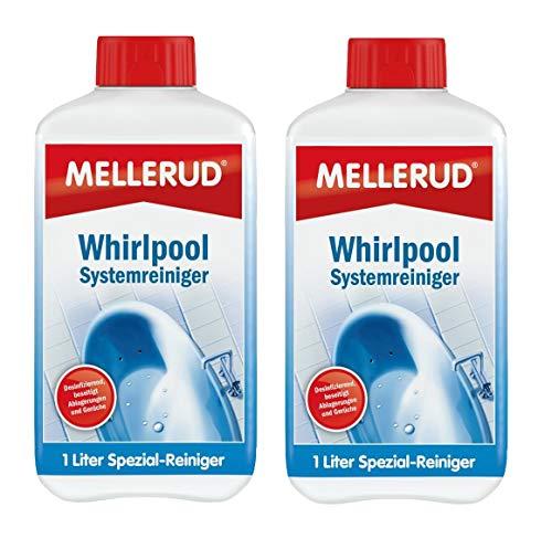 MELLERUD Whirlpool-Systemreiniger 1 | 2 | 4 Liter Pool Spezial-Reiniger (2 Stück)