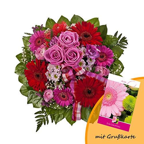 Dominik Blumen und Pflanzen Falling in Love Blumenstrauß, Bunt