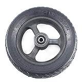 Ruedas de Scooter eléctrico 200X60 Neumáticos sólidos para Scooter de 8 Pulgadas Neumáticos y Cubo/llanta no inflables a Prueba de explosiones 200 * 60, Molino Resistente, Seguridad