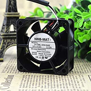 Authentic for NMB 2410ML-05W-B49 24V 0.12A 6025 Inverter Fan/Industrial Computer Cooling Fan