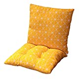 Zerxi Thick Printed Chair <span class='highlight'>Cushion</span> <span class='highlight'><span class='highlight'>40</span></span> x 80 <span class='highlight'>cm</span> Square Seat Pad Back <span class='highlight'>Cushion</span> One-piece Style Seat Mat 16 x 32 Inch Separable Soft Breathable for Office Dining Classroom <span class='highlight'>Garden</span> <span class='highlight'>Outdoor</span> (Stripe #1)