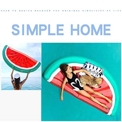Halve Watermeloen Zwevend Bed Waterhangmat Opblaasbaar Drijvend Kussen Zwembad Lounge Chair Voor Volwassenen Feest