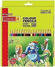 Camlin Kokuyo 4192567 24-Shade Full Size Colour Pencil Set (Assorted), PACK OF 4