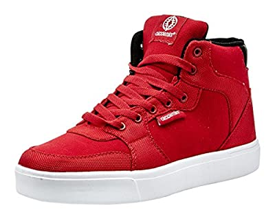 Akademiks Mens Hi-Top Sneakers – Fashionable, Casual Tennis Shoes