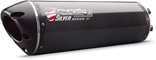 Two Brothers Racing (005-3660405V-S) Silver Series M-2 Carbon Fiber Canister Slip-On Exhaust System