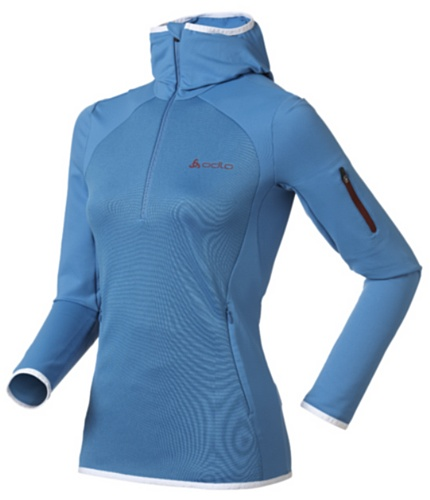 Odlo 522561 Sweat-Shirt pour Femme Midlayer Shot Bleu Taille XL