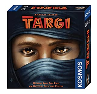 Kosmos 691479 - Targi Hitziges Spiel für Zwei um Datteln, Salz und Pfeffer, Brettspiel (B006Y9K1BY) | Amazon price tracker / tracking, Amazon price history charts, Amazon price watches, Amazon price drop alerts