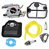 Carburateur pour Husqvarna 36 41 136 137 141 142 Remplace Walbro WT-834 WT-657 WT-529 WT-289 WT-285 WT-239 WT-202 Zama C1Q-W29E