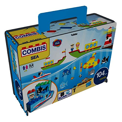 Game Movil 85403 Combisticker zee, 104 delen in doos