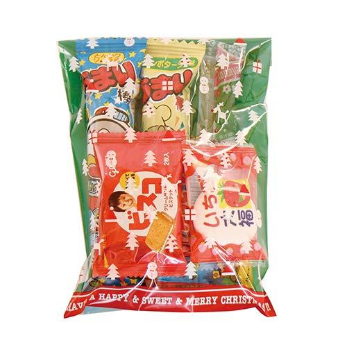 クリスマス袋 150円 お菓子 詰め合わせ 駄菓子 袋詰め おかしのマーチ