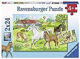 Ravensburger Infantil Puzzle 07833Ravensburger 07833de Caballos en el Patio de niño Puzzle