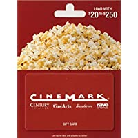 $50 Cinemark Theatres Gift Card