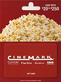 Cinemark Theatres Gift Card
