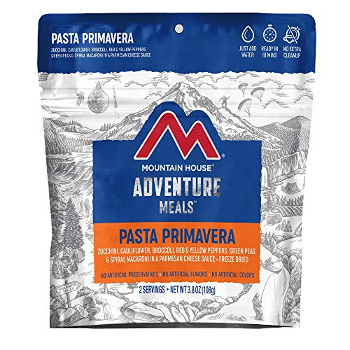 Mountain House Pasta Primavera | Freeze Dried Backpacking & Camping Food | 2 Servings