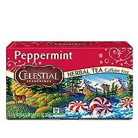 Celestial Seasonings 0630897 Herb Tea Peppermint - 20 Tea Bags