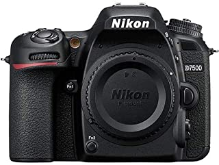 Nikon D7500 Body Only, Black
