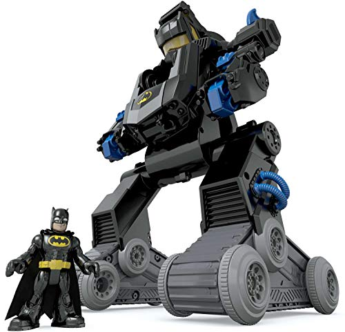 Imaginext Batman, Bat-Robot transformable, Juguete para niño +3 años (Mattel DMT82)