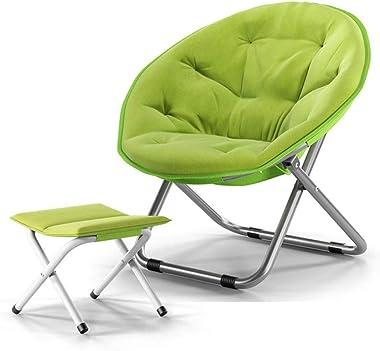 GJZM Beanbag Chair Thick and Durable Ergonomic Design Bean Bag Chair, Kids Chair for Meditation Seminars Reading,Green
