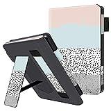 HUASIRU Portátil Caso Funda para el Todas Las Generaciones de Kindle Paperwhite - La Cubierta de Soporte Ajustable con Auto-Reposo/Activación, Colores