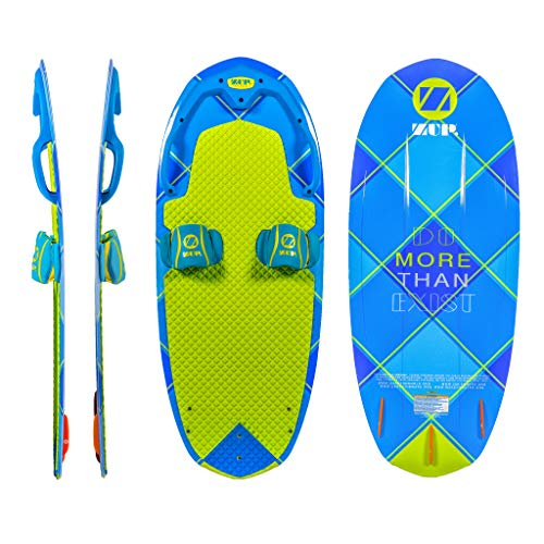 ZUP DoMore Board All-in-One Performance Board with Tow Hook, Trainer Board, Wakeboard, Kneeboard and...