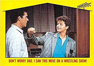Kirk Cameron trading card Growing Pains Mike Seaver 1988 Topps #44 Alan Thicke