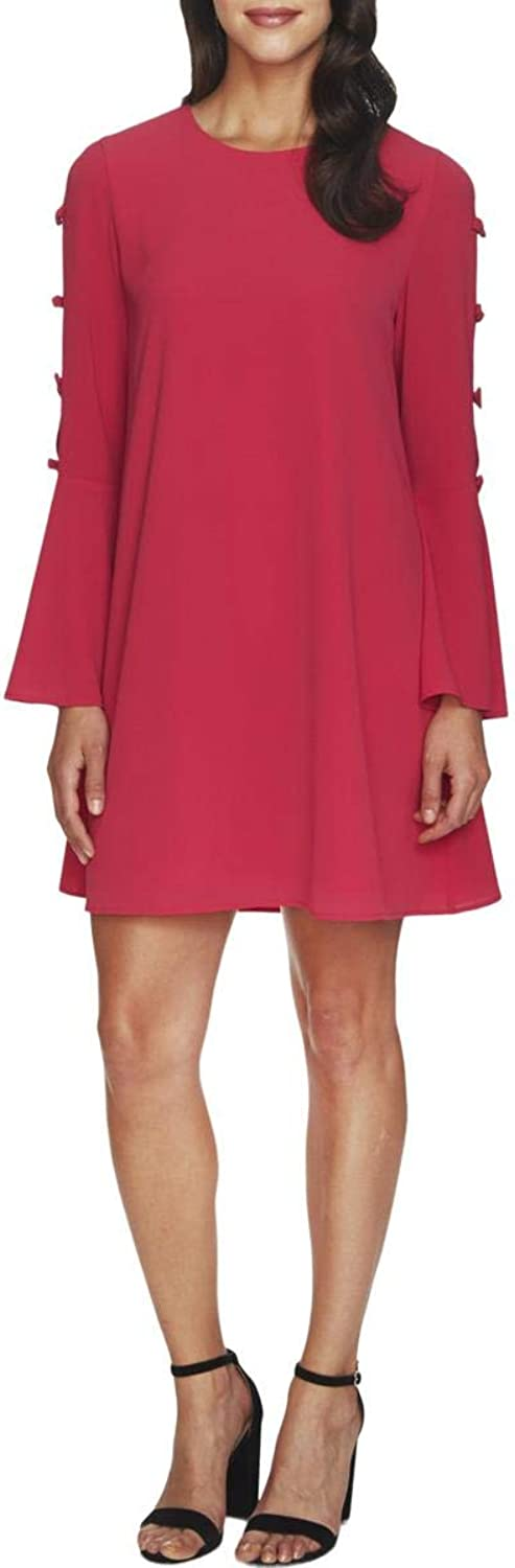 C&E CeCe Womens BellSleeve Above Knee Party Dress