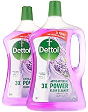 Dettol Lavender Antibacterial Power Floor Cleaner 1.8L Twin Pack At 20% Off