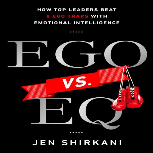 EGO vs. EQ audiobook cover art