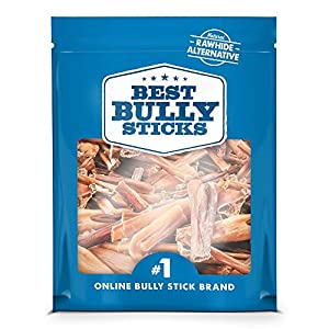 Best Bully Sticks Bully Stick Bites (2lb. Bag) – All-Natural Dog Treats