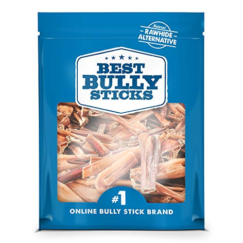 Best Bully Sticks Bully Stick Bites (2lb. Bag) - All-Natural Dog Treats
