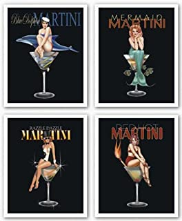 Best martini poster girl Reviews