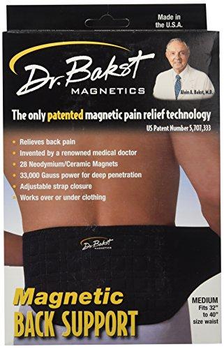 Magnetic Back Support Belt From Dr. Bakst Magnetics, Medium