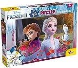 Lisciani - Puzzle Frozen doble cara Plus 24 piezas