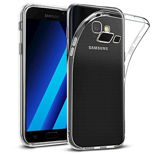 wsiiroon Hülle für Samsung Galaxy A5 2017, Galaxy A5 2017 Handyhülle - Crystal Clear Ultra Dünn Durchsichtige Silikon Schutzhülle TPU Hülle für Samsung A5 2017 Transparent