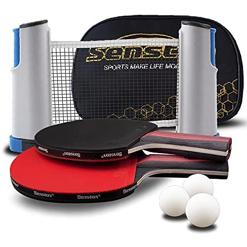 Senston Tischtennis Set mit Ausziehbare...