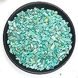 YANGB Reiki Stein 50g natürliches Amazonit-Kristallkies-Mineral-Entmagnetisierungs-Aquarium...