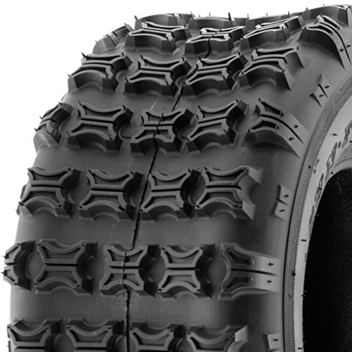 SunF 18x9.5-8 Replacement Tubeless 6 PR ATV UTV Tires A018 [Single]